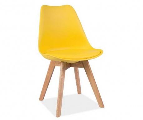Židle Korso Style Yellow