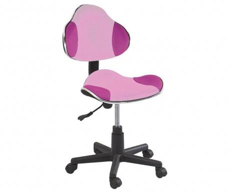 Scaun de birou pentru copii Vivid Pink Fuchsia