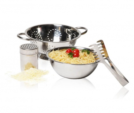 Silver 4 darabos  Szett tésztának