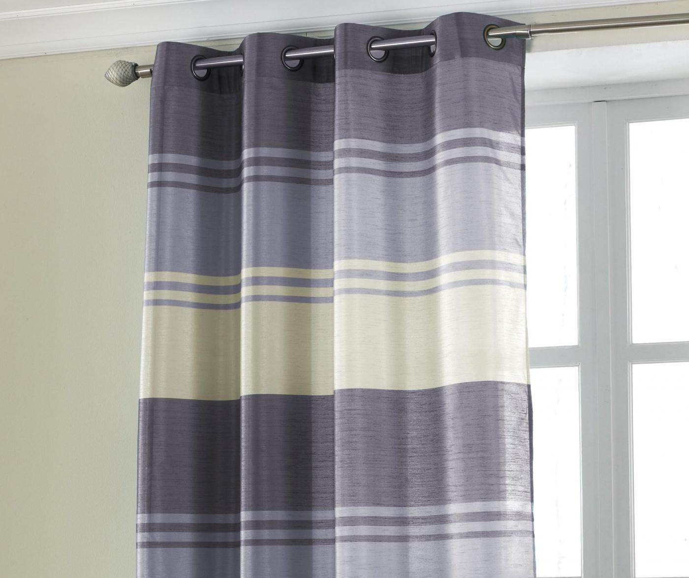 Perdea Stripe Purple 145x228 cm