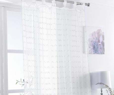 Zavjesa Zig White 138x225 cm