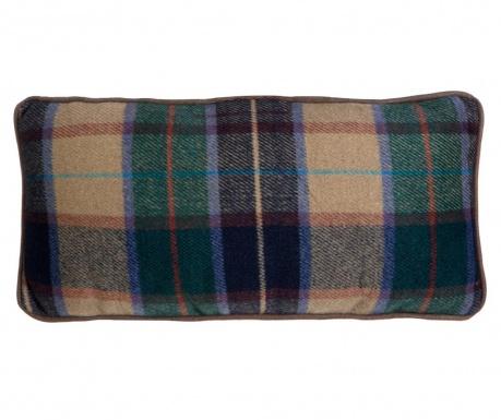 Perna decorativa Green Check 20x45 cm