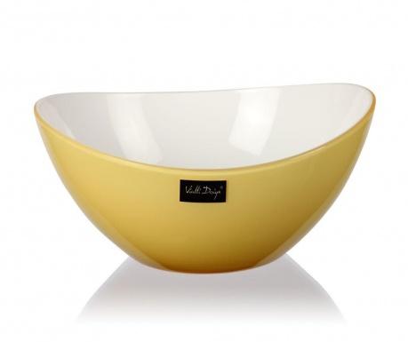 Livio Pastel Yellow Mély tál 400 ml