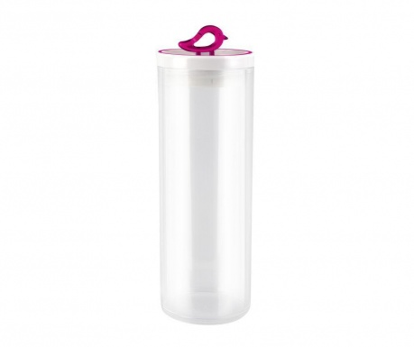 Съд с капак Livio Bird Fuchsia Tall 1.8 L