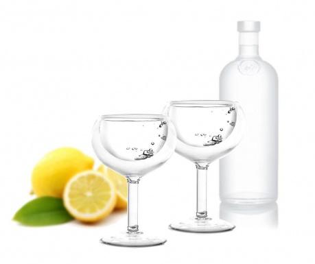 Set 2 kozarcev Doubled Vodka 30 ml