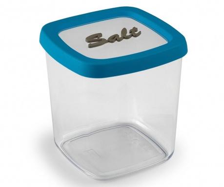 Съд за сол с капак Blue Line 1 L