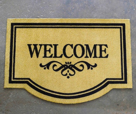 Входна изтривалка Welcome Arch 45x65 см