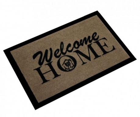 Covoras de intrare Welcome Home Brown 40x60 cm