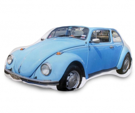Perna decorativa Beetle Blue 23x40 cm