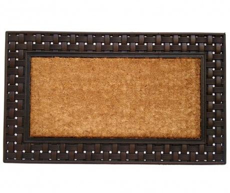 Garett Brown Lábtörlő szőnyeg 45x75 cm