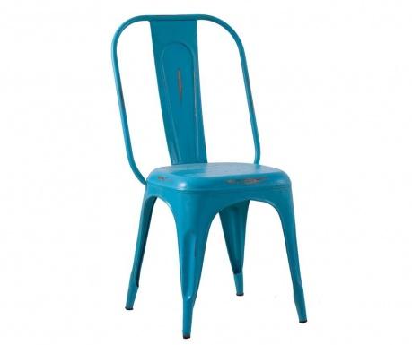 Scaun Antic Azul