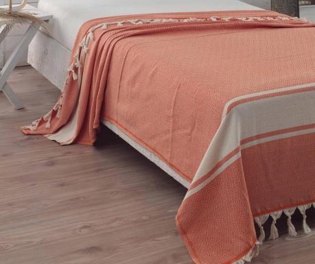 Přehoz Elmas Orange 200x240 cm