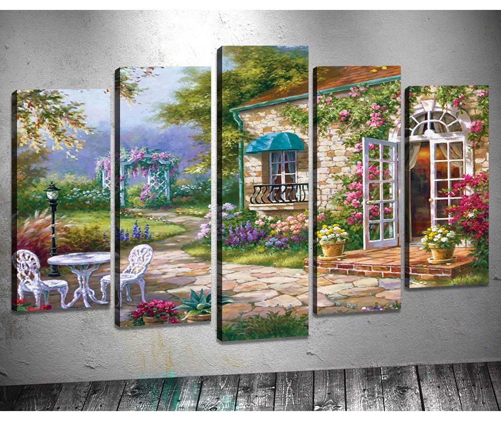 Set 5 slik Garden
