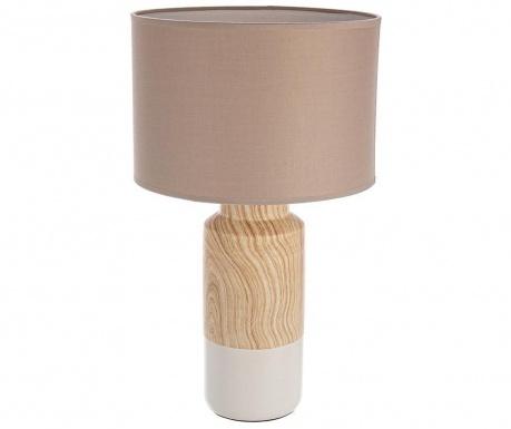 Lampa Rotterdam Wooden White