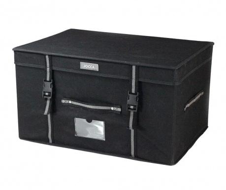 Cutie cu capac pentru depozitare Black
