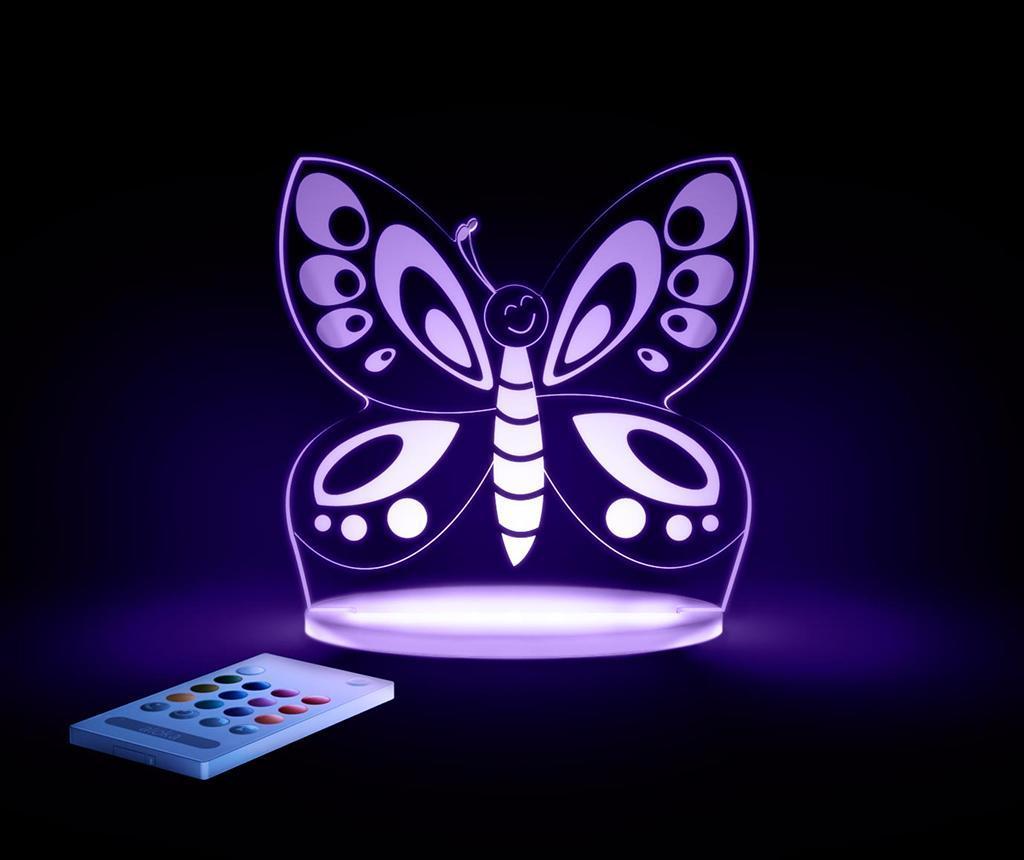 Lampa de veghe Butterfly - Aloka, Multicolor