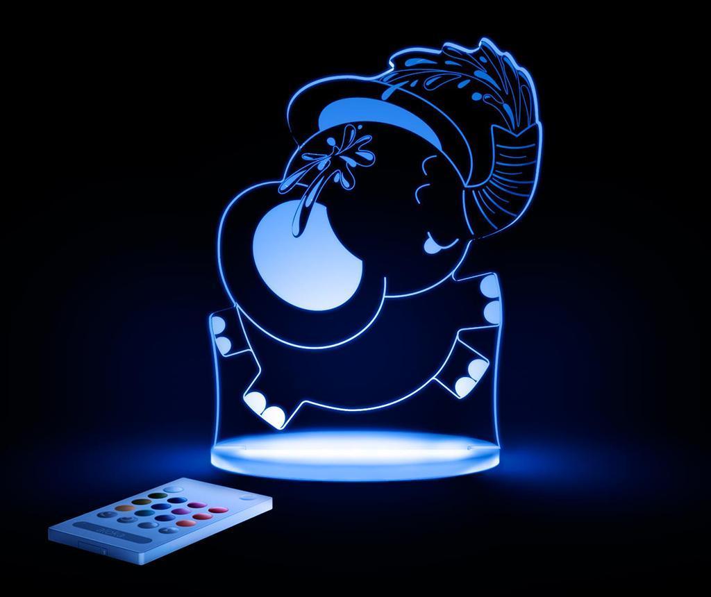 Lampa de veghe Elephant - Aloka, Alb