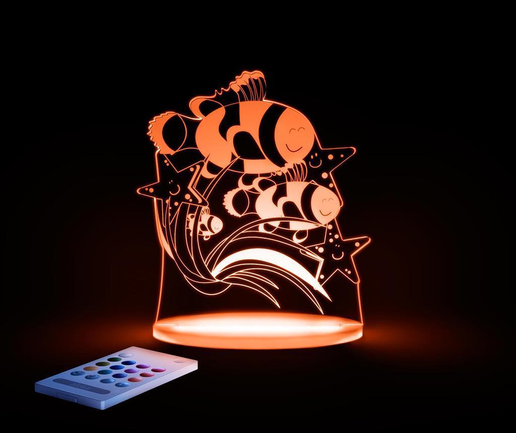 Lampa de veghe Fish - FunLights, Multicolor