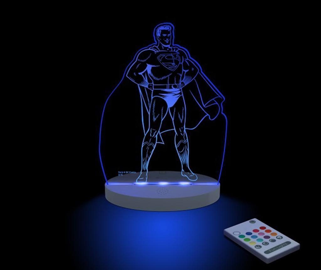 Lampa de veghe Superman - FunLights, Multicolor
