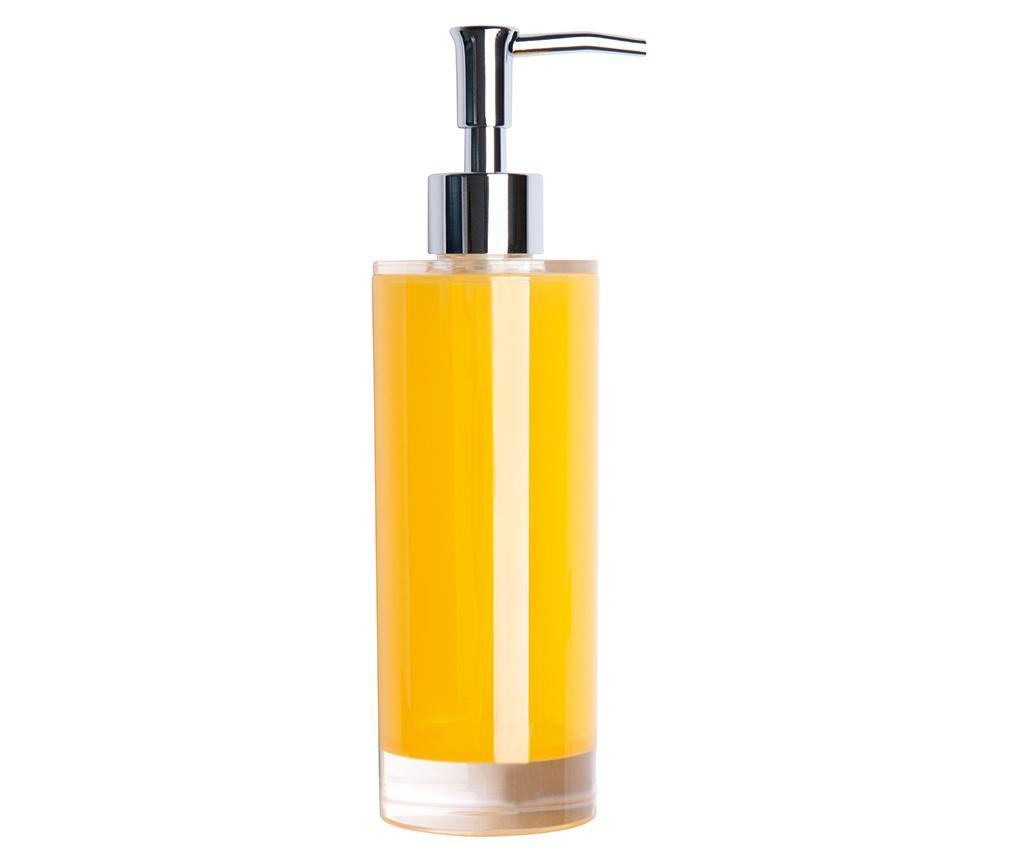 Dispenser sapun lichid Linea Yellow 300 ml - Excelsa, Galben & Auriu de la Excelsa