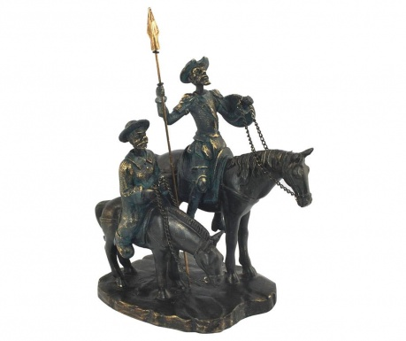 Decoratiune Don Quixote and Sancho Panza