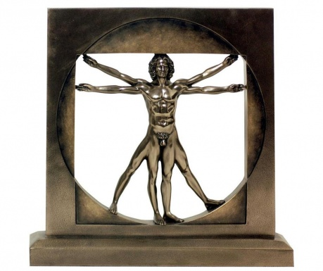 Dekorace Vitruvian Man