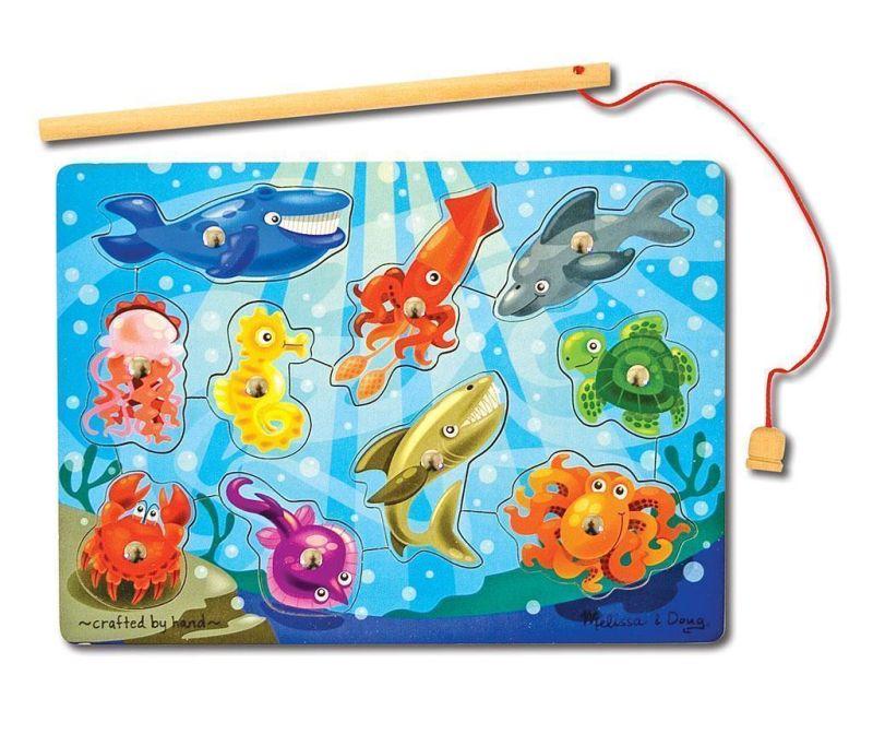 Magnetna igra ribolov iz 12 delov Sea World