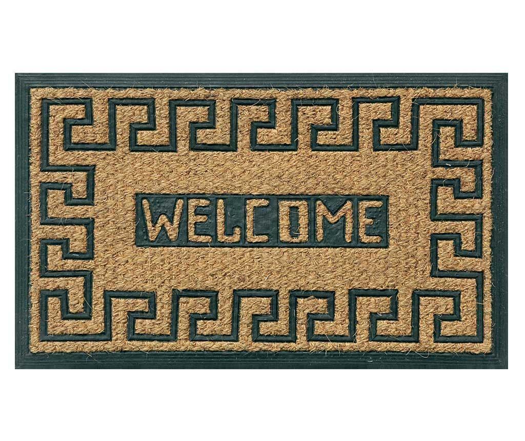 Welcome Pattern Bejárati Szőnyeg 45x75 cm