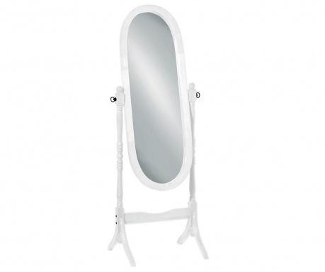Podlahové zrcadlo Cheval White