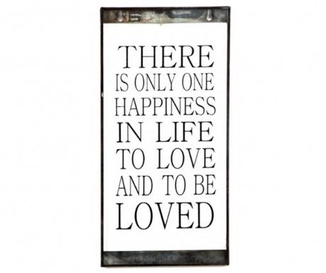 Stenska dekoracija One Happiness