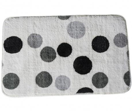 Килим за баня Dots Grey 45x70 см