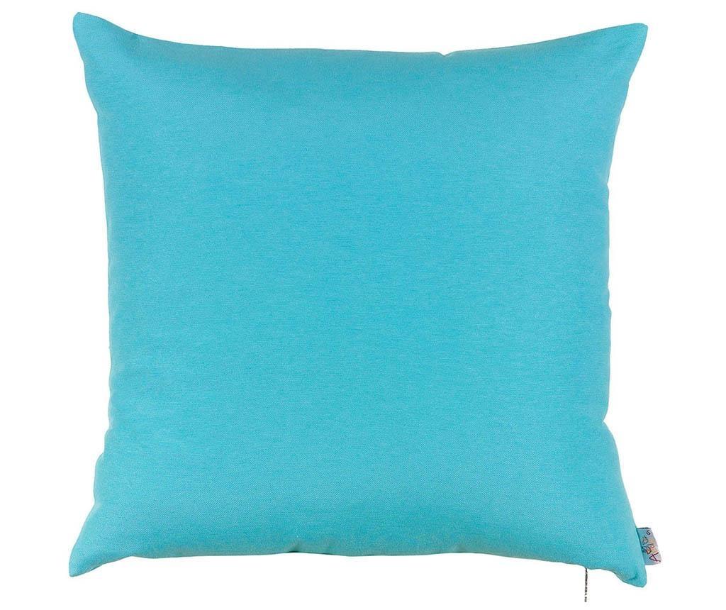 Obliečka na vankúš Thoughts Blue 41x41 cm