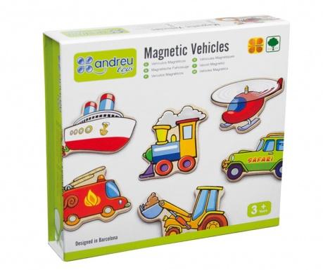 Sada 20 magnetov Vehicles