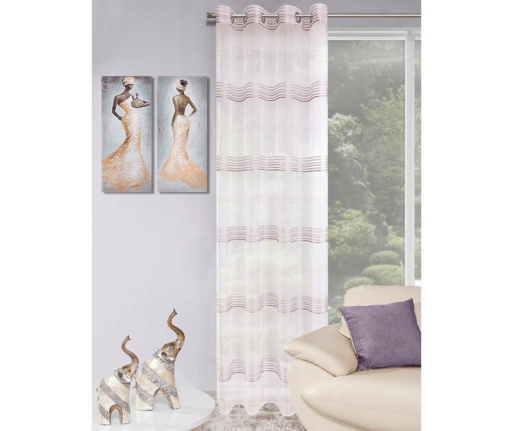 Draperie Etta Purple 140x250 cm