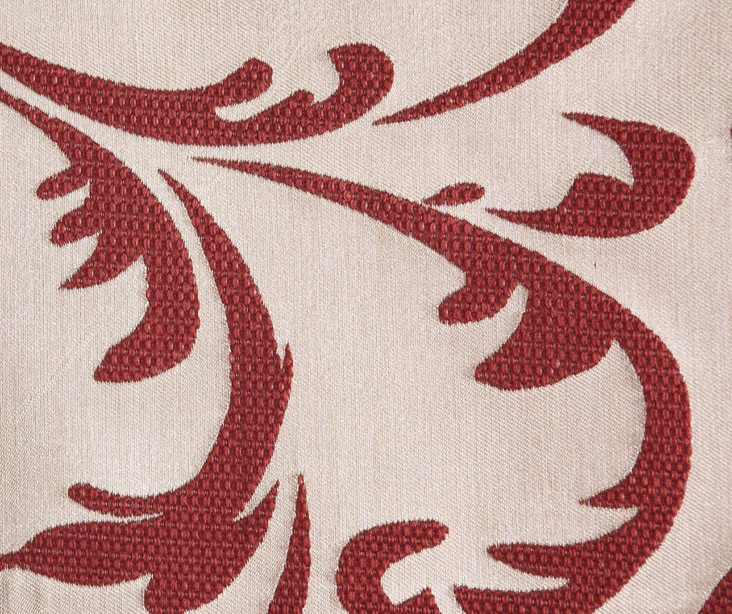 Zastor Floral Bordeaux 140x250 cm