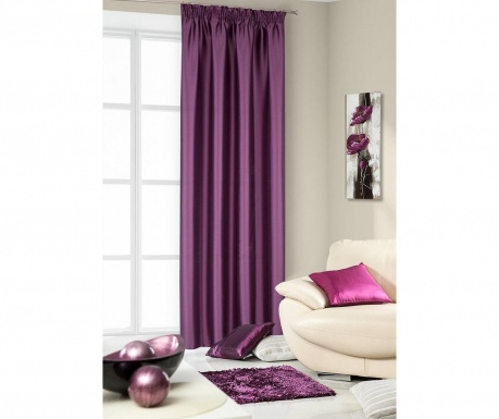 Draperie Queenie Purple 140x250 cm