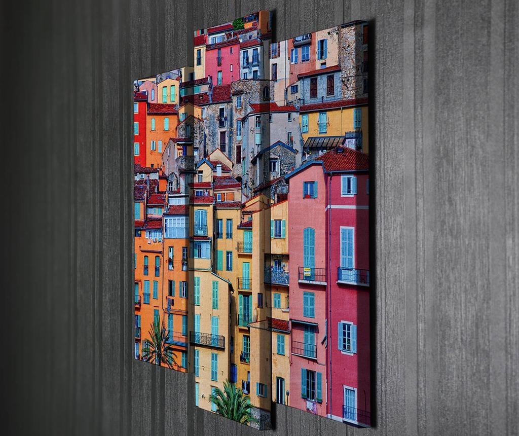 Colorful City 3 db Kép