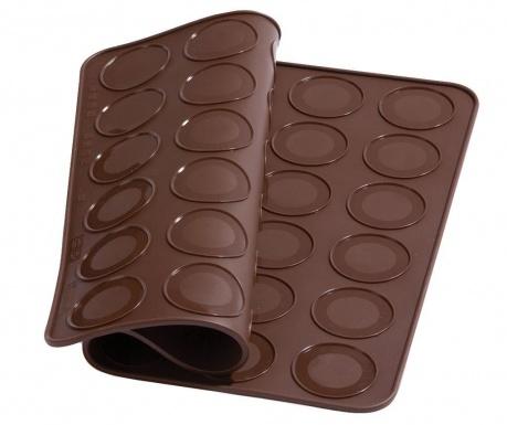 Brown Macarons sütőlap forma