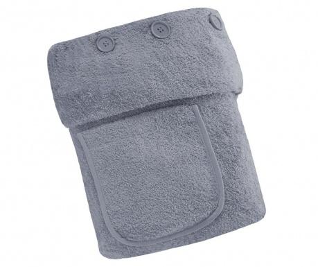Ręcznik do SPA Buttons Silver 70x140 cm