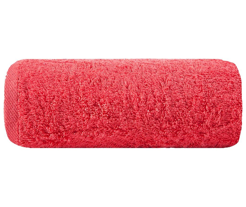 Prosop de baie Plain Red 50x90 cm