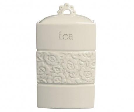 Dóza s vekom na čaj Lacie M