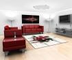 Preproga Imogen Black and Red 160x230 cm