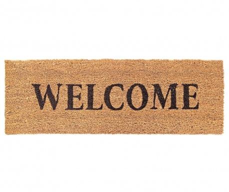 Welcome Light Brown Bejárati szőnyeg 25x75 cm