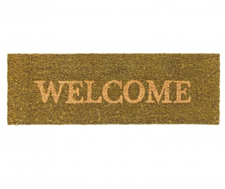 Welcome Green Bejárati szőnyeg 25x75 cm