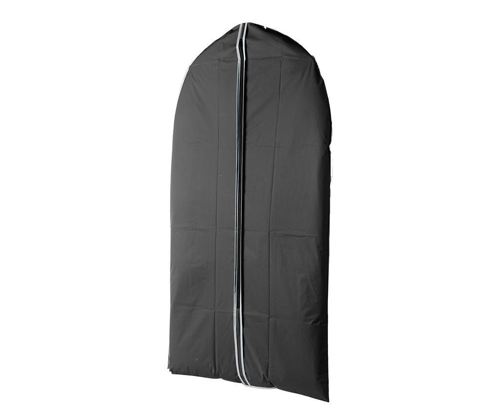 Husa pentru haine Zippy Black 60x100 cm