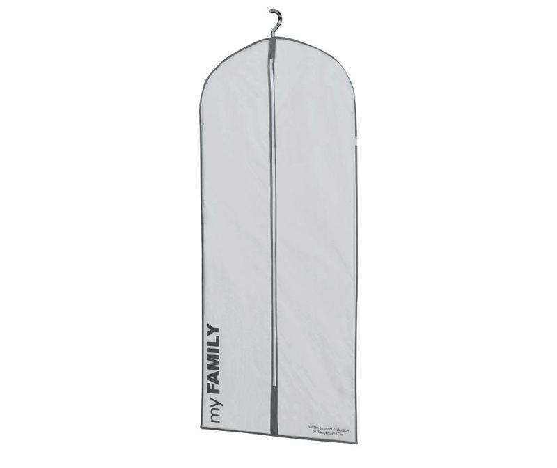 Husa pentru haine Ran White 56x127 cm