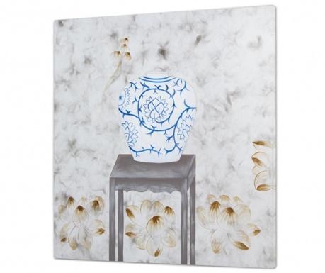 Obraz Blue Vase One 80x80 cm