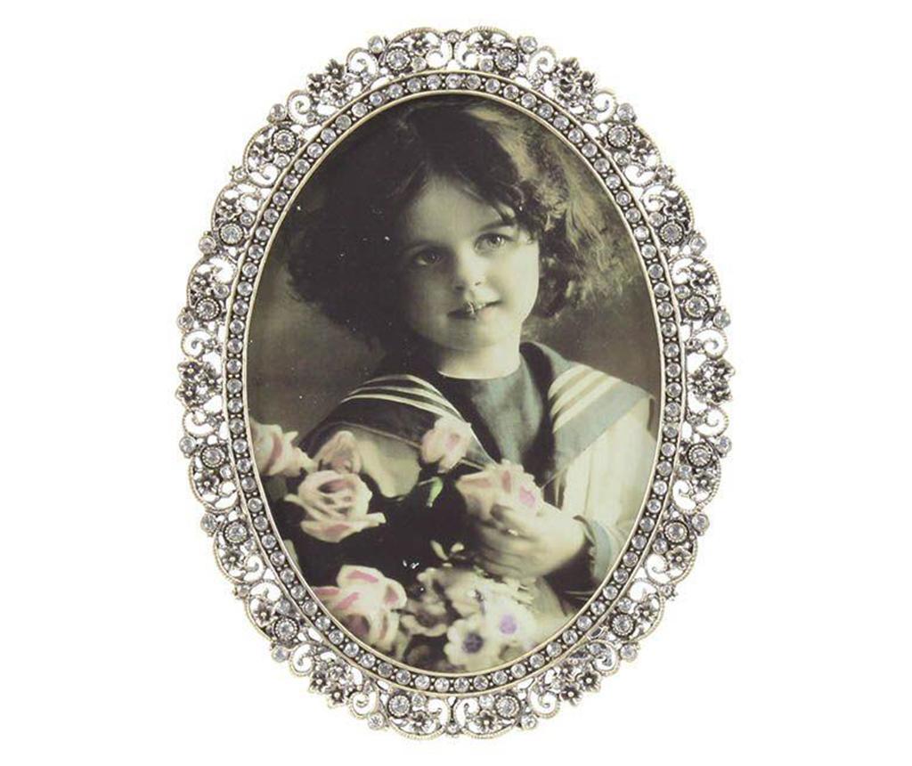 Rama foto Little Princess M - inart, Gri & Argintiu