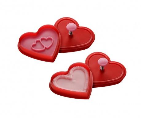 Комплект 2 форми за бисквити Hearty