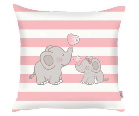 Fata de perna Cute Elephants 35x35 cm